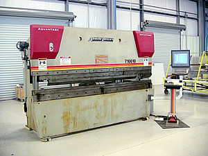 10 ft. CNC Automated Press Brake
